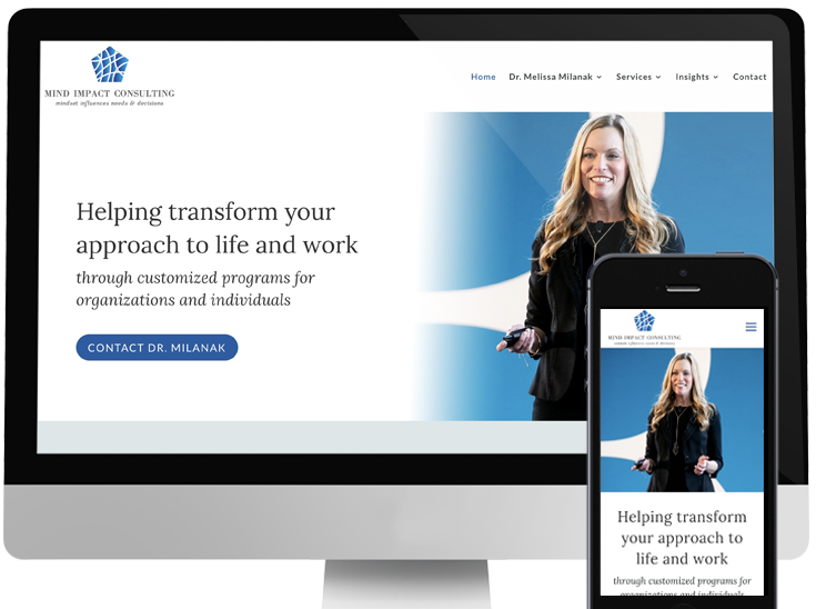 Mind Impact Consulting Website