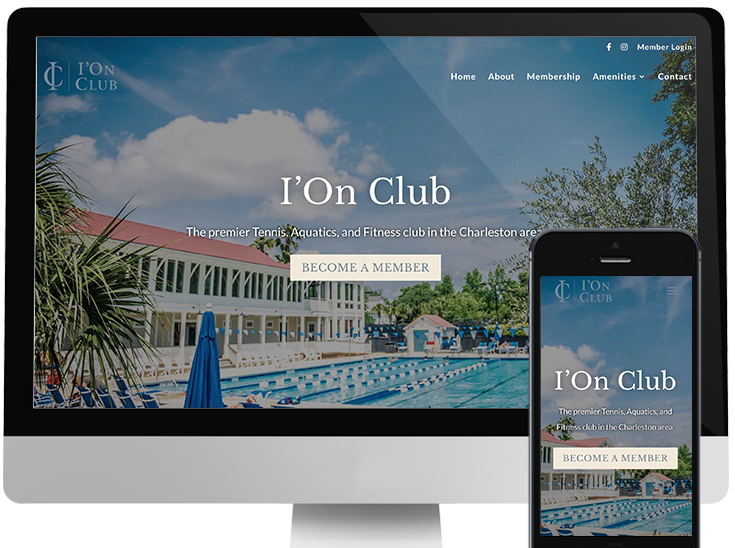 The Ion Club website